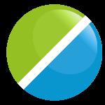 taso vihreä sininen
